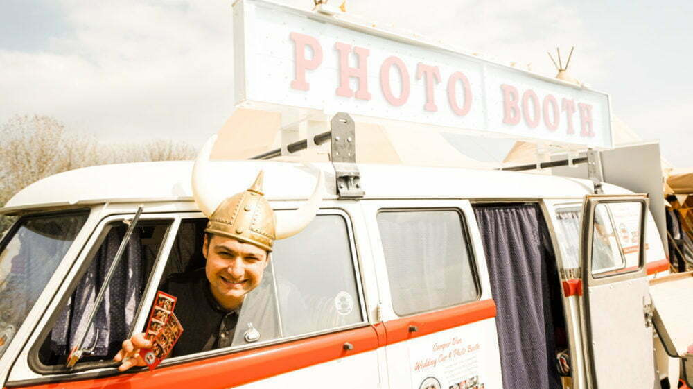 VW Wedding Rosie Photo Booth North East